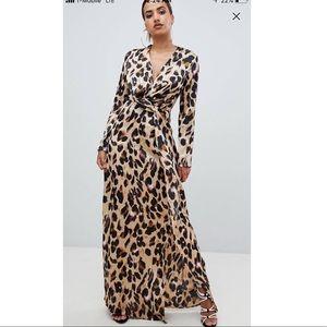 Leopard print Macy dress